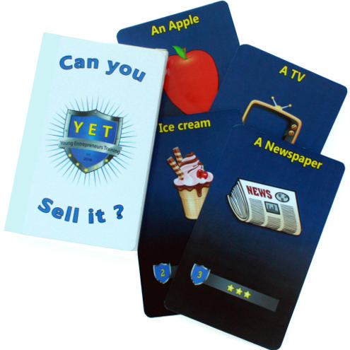 """YET Sales Card Game, """"Can You Sell It"""""""